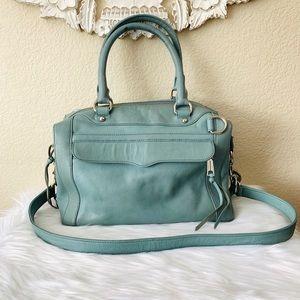 {Rebecca Minkoff} Blue/Green MAB Mini Satchel